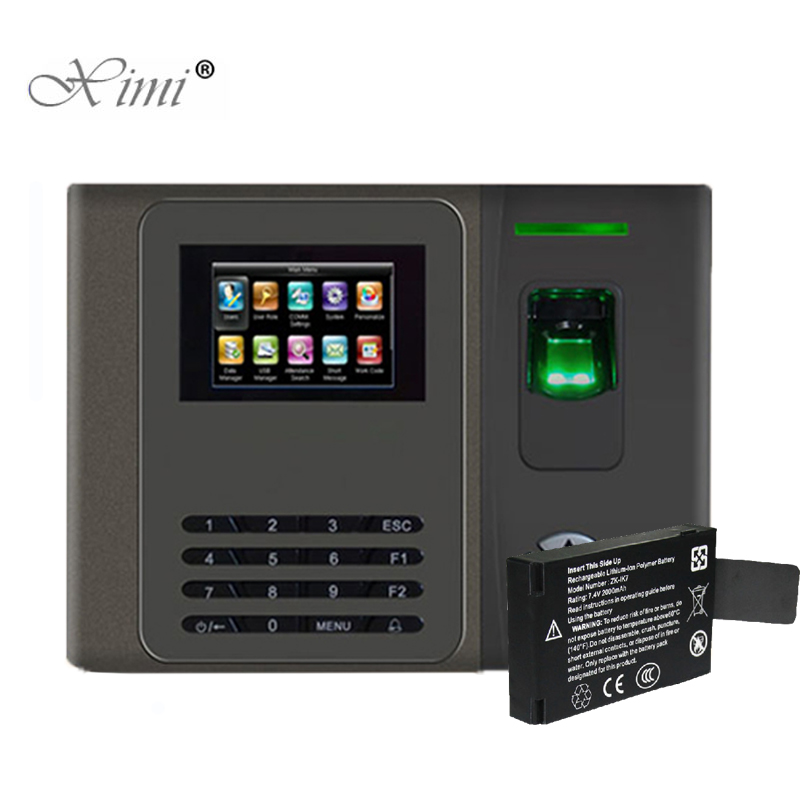Newest TCP/IP Biometric Fingerprint Time Attendance With Back Up Battery Fingerprint Time Recording Fingerprint Time Clock XM200