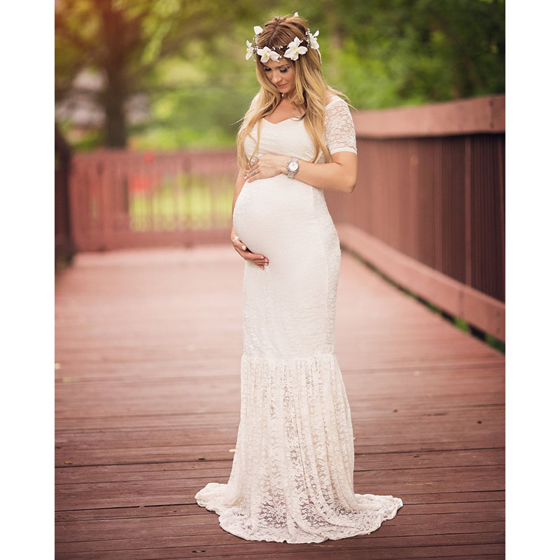 2019 Women Dress Maternity Photography Props Pregnancy Dress Photography Clothes For Photo Shoot Pregnant Dress Lace Maxi Gown2019 Women Dress Maternity Photography Props Pregnancy Dress Photography Clothes For Photo Shoot Pregnant Dress Lace Maxi Gown