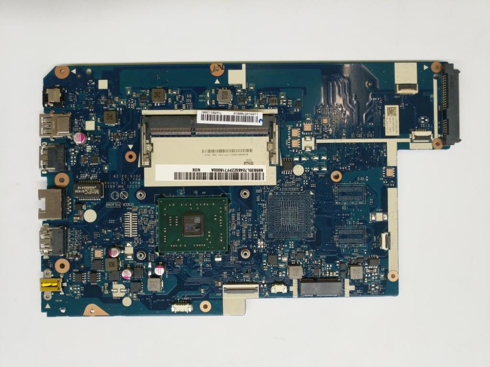 Applicable to <font><b>Lenovo</b></font> <font><b>110</b></font>-17ACL laptop <font><b>motherboard</b></font> number NM-A911 FRU 5B20L72483 5B20L72492 5B20L72491 image