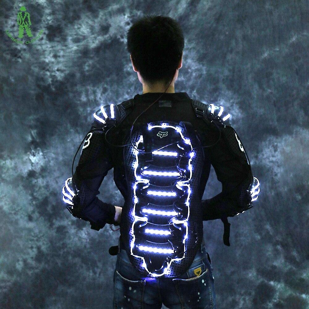 Freie leuchtende Rüstungs-Beleuchtungs-Roboter-Klage des - Partyartikel und Dekoration - Foto 4