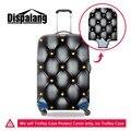 Персонализированная 3d-модель багажа защитные крышки Женщины чемодан защитный охватывает Ясно Водонепроницаемая камера крышка для путешествий