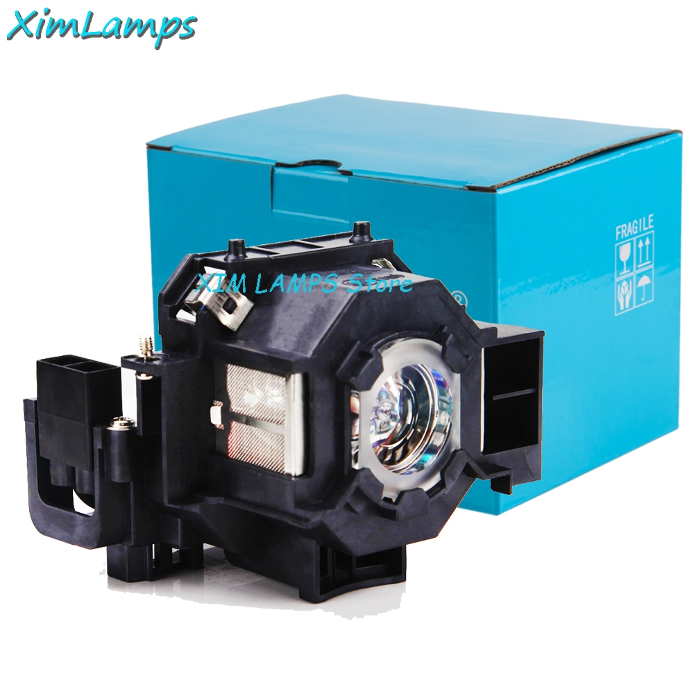 ELPLP42 Projector Lamp With Housing For Epson PowerLite 83C 410W 822 EMP-83H, EMP-83, EB-410W, EMP-400WE, replacement projector lamp with housing elplp23 v13h010l23 for epson emp 8300 emp 8300nl powerlite 8300i powerlite 8300nl