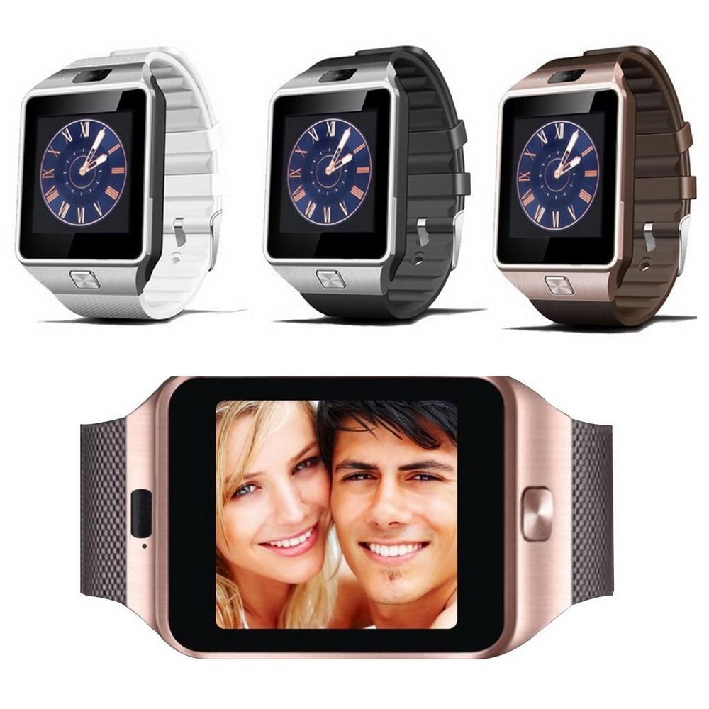 2017 Smart Watch DZ09 2016 Gold Orange White Black Smartwatch Bluetooth Watches For IOS Android Iphone