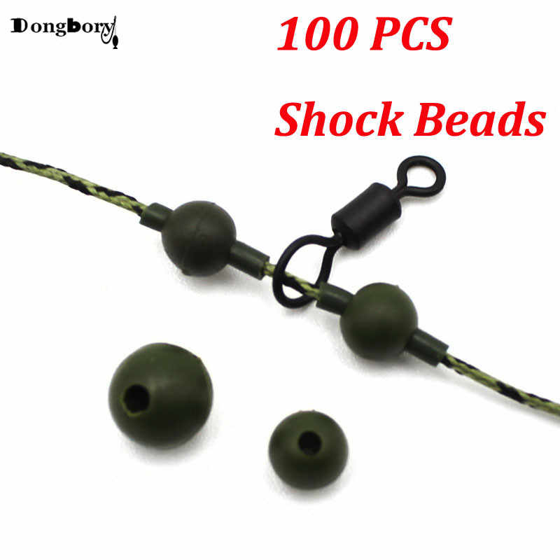 20PCS Carp Fishing Beads for Helicopter Rig Chod Rig Knot Protector Be KeR.JF