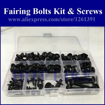 Fairing bolts kit screws for SUZUKI GSX750/600F 1997-2005 GSX600F GSX750F 97-05 fairing screw bolts HOTLIKE 1 set image