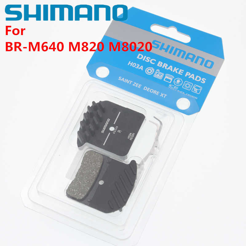 560ea43f46c Shimano Mountain bicycles BR-M640 SAINT M820 Brake Pad XT M8020 D01S H01A  H03A Resin