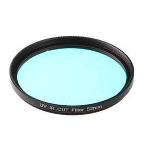Image 2 - FOTGA אופטי זכוכית UV IR לחתוך מסנן 52mm 58mm לעבור אינפרא אדום X ray IR UV מסנן עבור DSLR ניקון Canon מצלמה