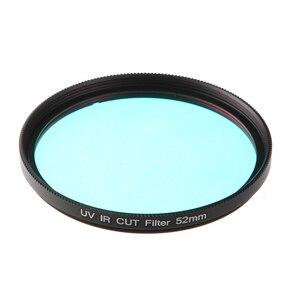 Image 2 - FOTGA szkło optyczne UV IR filtr cięcia 52mm 58mm filtr podczerwieni x ray IR filtr UV do DSLR Nikon aparat Canon