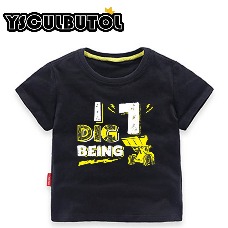 YSCULBUTOL Girl T Shirt Second Birthday 2 Year Old Baby Two Toddler Tee