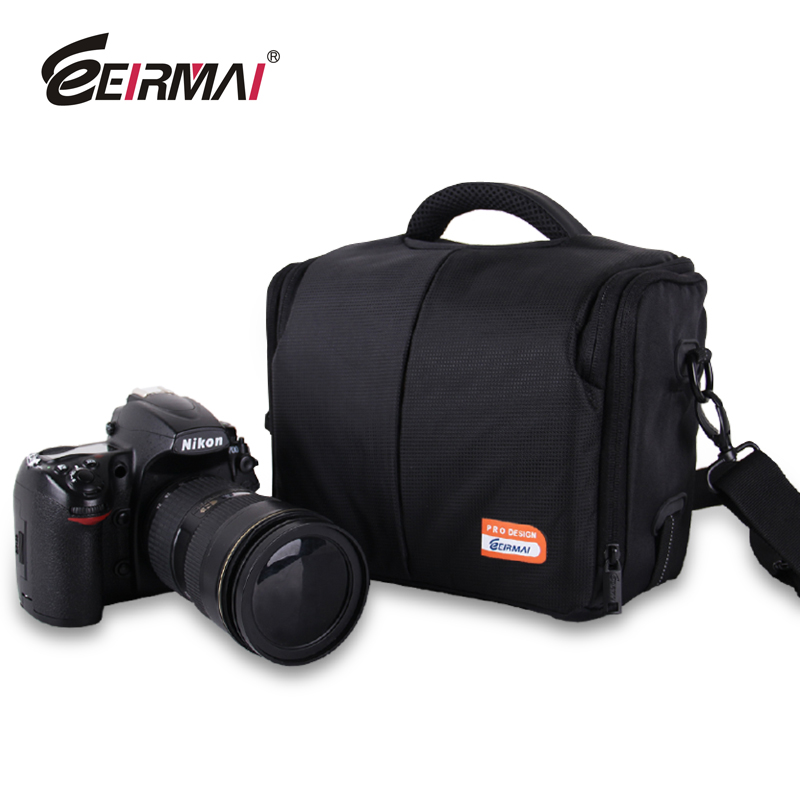 free shipping hot sale Eirmai camera bag slr camera bag slr bag 600d60d one shoulder waterproof the big bag цены онлайн