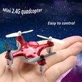 Versión de actualización X12S X12 Mini Drone Syma 2.4 GHz 4 Canales 6-axis Giroscopio de Control Remoto RC Helicóptero RC Quadcopter Juguetes
