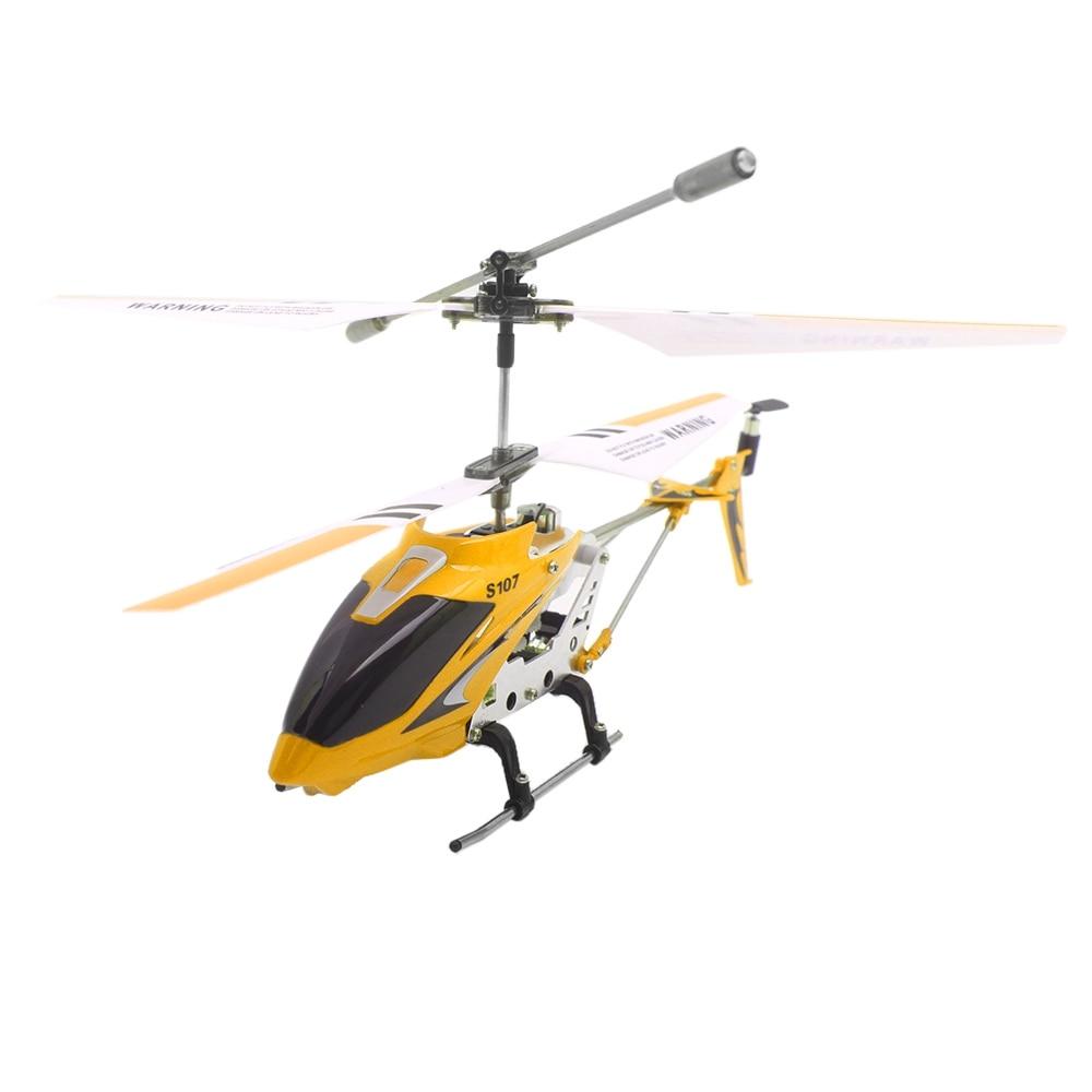 SYMA S107G вертолет 3CH Дистанционное управление вертолетом сплава вертолет с гироскоп Дрон со светодиодной и вспышки огней детские подарки на Рождество