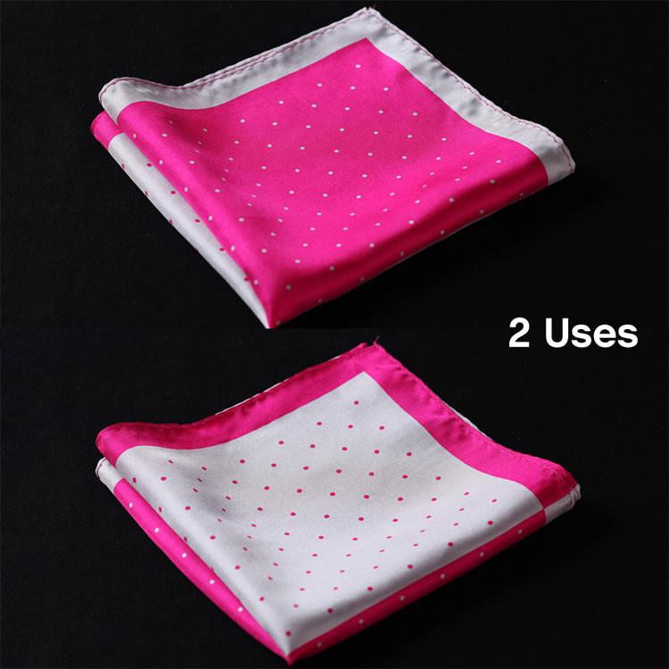 N143 HN14K2 Pink Gray Polka Dot 33cm (1)
