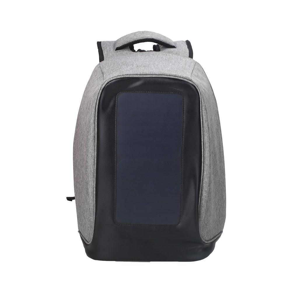 5V 1200maH Practical Laptop Charger Backpack Gift Backpacking Waterproof Solar Powered Bag Useful Emergency Charge