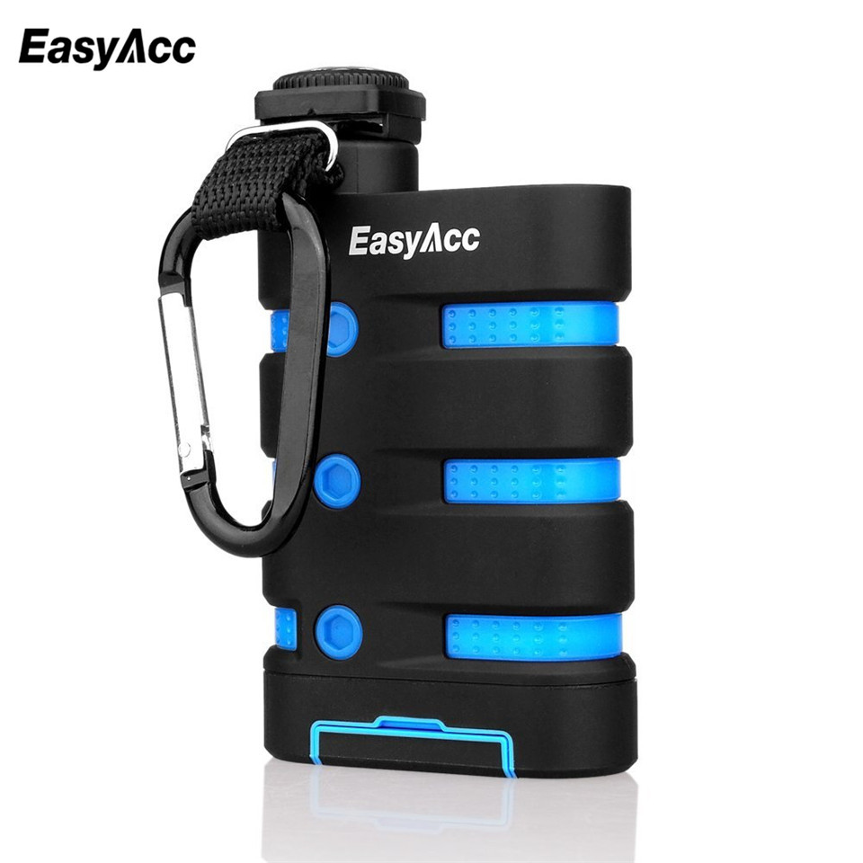 EasyAcc 9000 mAh 5 V 2.1A Powerbank batterie Externe chargeur power bank Pour iphone 6 Xiaomi Huawei Moblie Téléphone En Plein Air utiliser