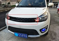 Front Grill Grille Grid Insert Grid For 2012 15 Great Wall Hover Haval M4 GWM 1PC