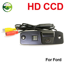 HD CCD de visión Trasera Aparcamiento Cámara de Marcha Atrás Para Ford Focus Sedan (2) (3)/08/10 Focus visión Nocturna