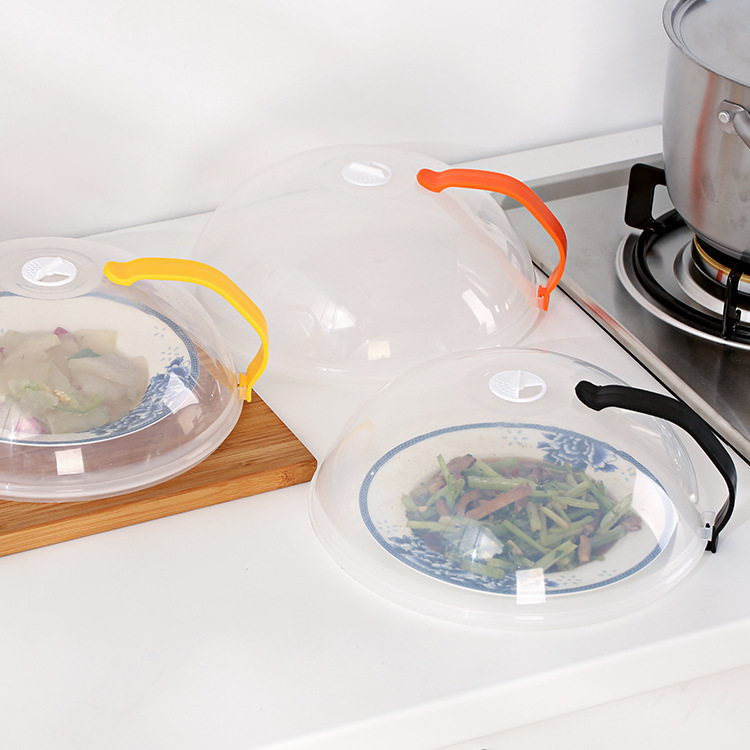 Food Cover In Microwave Oven Oil Cap Heated Sealed Plastic Dish Dishes Dust Covers From Home Garden On Aliexpress