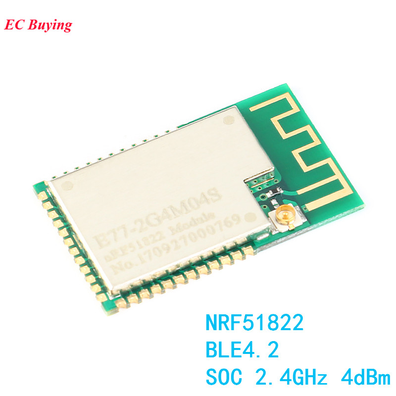 NRF51822 Wireless Bluetooth Module BLE4.2 <font><b>SOC</b></font> Development <font><b>Board</b></font> 2.4GHz 4dBm DIY Electronic Kit PCB image