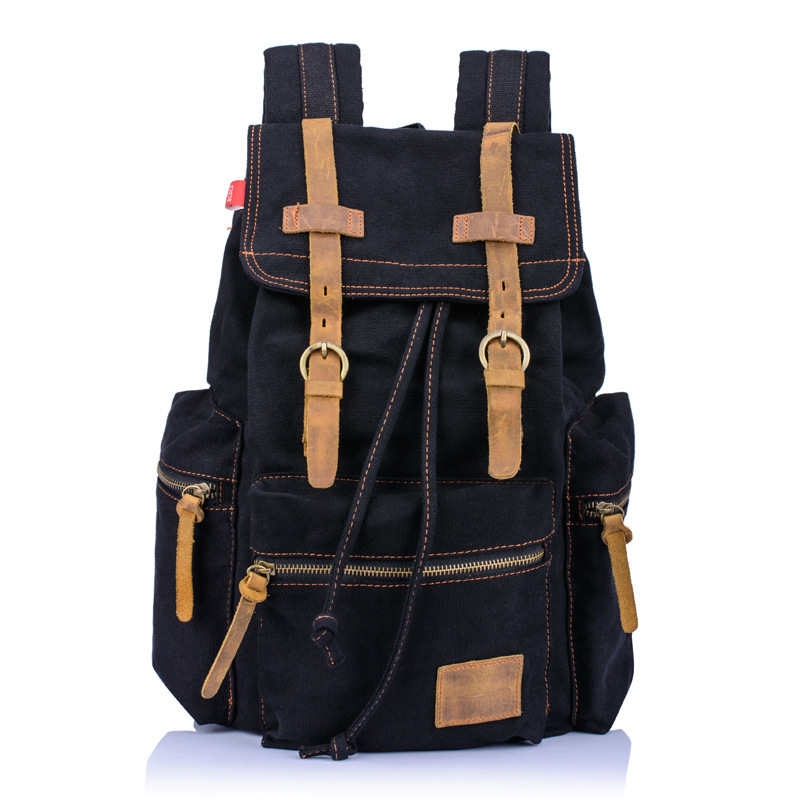 Aliexpress.com : Buy New Fashion Casual Canvas Travel Backpack ...
