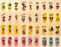1 pcs Mickey Minnie Head Large Nail Art Water Transfer Water Decal Fantasia Pink Cute Cartoon Nail Sticker Nail Art Decorations