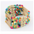 Free New Bohemian flow Sumi Bead Bracelet Hot fashion beaded bracelets handmade jewelry multilayer elastic colorful girls beads