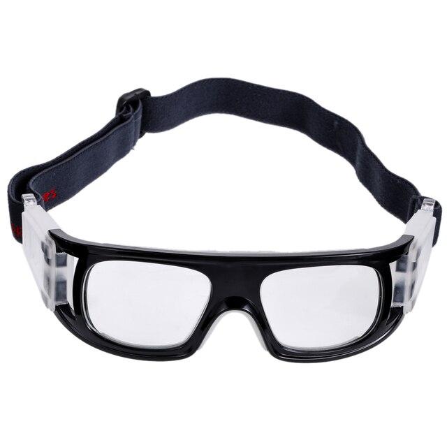 a9b4711b8376e Lunettes de protection sport lunettes de basket-ball lunettes pour Football  Rugby épaisseur 8mm couche