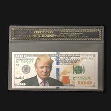 Новые продукты для серебряных банкнот американского Трампа 100 долларов в 24k посеребренные с COA рамкой для коллекции