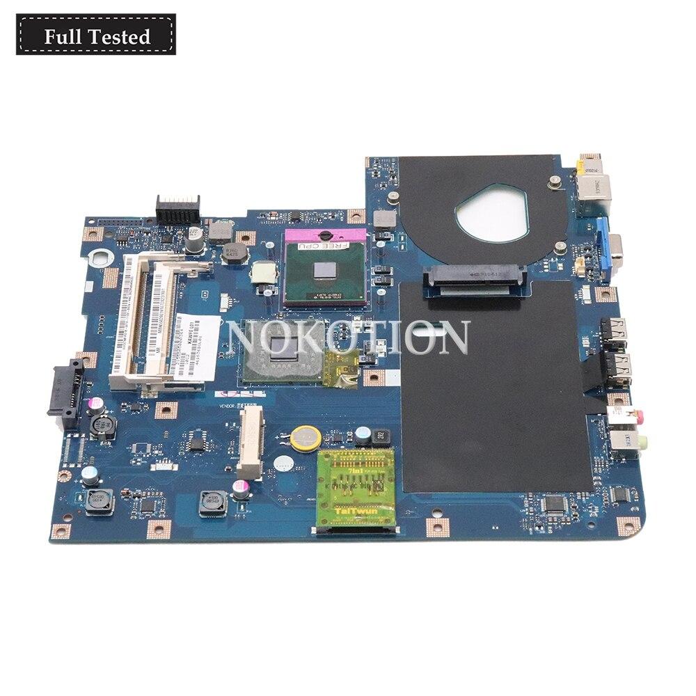 NOKOTION MBPGV02001 MBN5402001 Main board Per Acer Aspire 5332 Scheda Madre Loptap KAWF0 LA-4851P GL40 DDR2 in Pieno provatoNOKOTION MBPGV02001 MBN5402001 Main board Per Acer Aspire 5332 Scheda Madre Loptap KAWF0 LA-4851P GL40 DDR2 in Pieno provato
