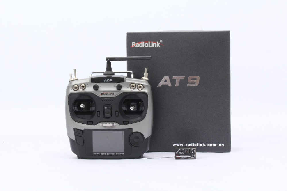 F10001 Radiolink 2.4G 9ch system Radiolink AT9 rc radio Transmitter & Receiver TX + RX for Drone remote control Helicopter