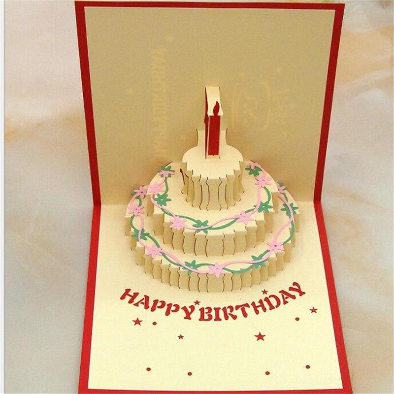 Us 22 3d Pop Up Kartu Ucapan Warna Kue Ulang Tahun Cardbirthday Ibu Hari Terima Kasih Hadiah Natal In Kartu Undangan From Rumah Taman On
