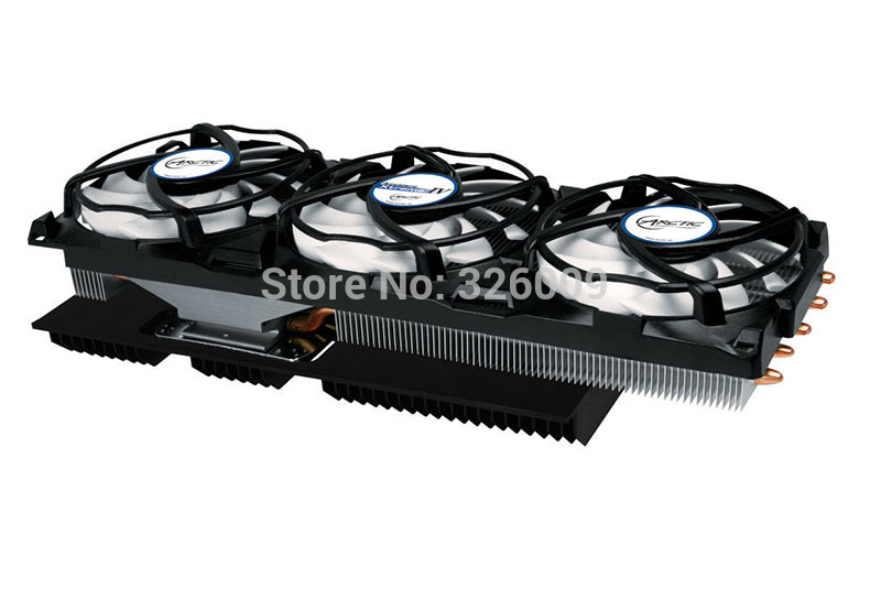Arctic Accelero Xtreme IV 3pcs 92mm PWM Fan Video Graphics Card Cooler Replace for RX 580 570 7970 7950 GTX 1080 1070 1060 цена