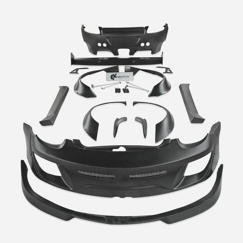 Для 09 12 Porsche Cayman 987,2 Gen II Facelift RB стиль полный широкий корпус стекловолокно автомобиля аксессуары тела комплект запчасти