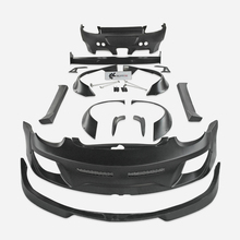 For 09-12 Porsche Cayman 987.2 Gen II Facelift RB Style Full Wide Body Fiber Glass Car Accessories Body Kit Parts цены онлайн