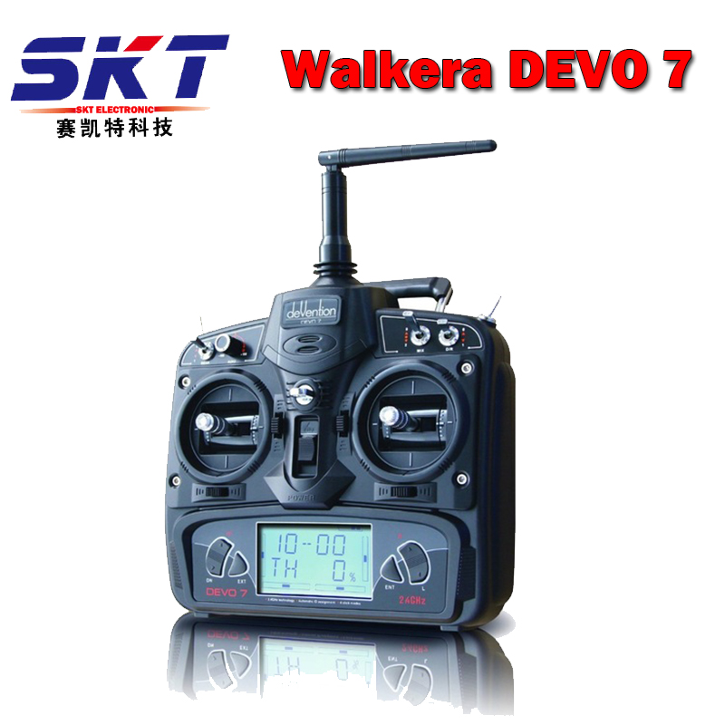 Walkera Devo 7 DEVO7 Transmitter 7 Channel DSSS 2.4G Transmitter Without Receiver for Walkera Helis Helicopter