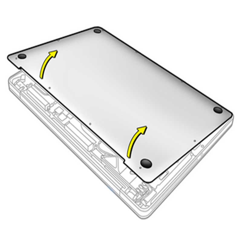 4 sztuk OEM dolny futerał gumowe stopy stóp wymiana stóp pad dla Macbook Pro Retina A1398 A1425 A1502