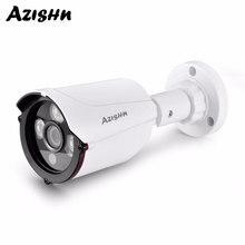 AZISHN 1080 P 960 P 720 P IP камера onvif обнаружения движения RTSP Крытый видеонаблюдения пуля 48 в POE CCTV Cam