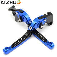 With TL1000S  Motorcycle Clutch Brake Lever CNC Aluminum Extendable Adjustable Levers For Suzuki TL1000S 1997 1998 1999-2001