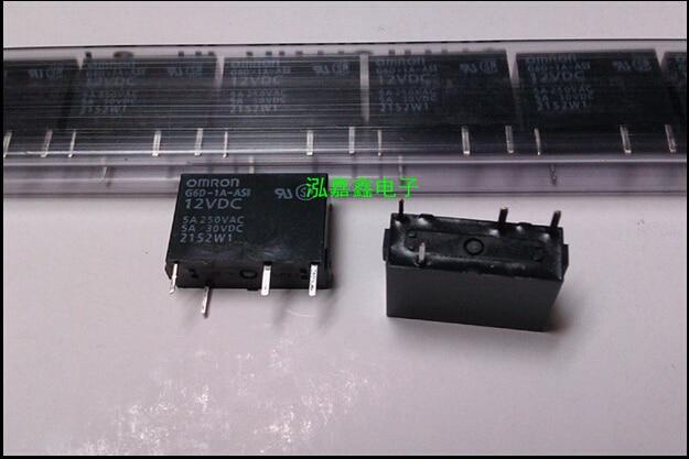 HOT NEW relay G6D-1A-ASI 12VDC G6D-1A-AS1 G6D-1A-ASI-12VDC G6D1AASI G6D-1A 12VDC DC12V 5A OMRON DIP4 hot new relay g8qe 1a 12vdc g8qe 1a 12vdc g8qe1a 12vdc dc12v 12v dip6 5pcs lot