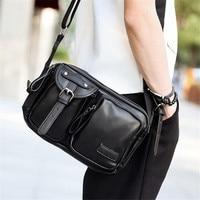 2016 New Stylish Women PU Leather Bag Casual Women Messenger Bags Vintage Leather Handbag Girl S