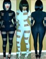Nuevo 2016 Remiendo de La Manera Atractiva de Las Mujeres Negro Blanco Trajes Sexy Mujeres Buzos Club de Vendaje Mamelucos Womens Jumpsuit 84415
