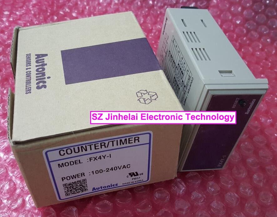 все цены на FX4Y-I/FX4Y-1  New and original Autonics  Counter design,counter display TIMER/COUNTER 100-240VAC онлайн