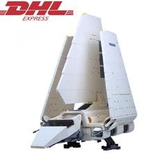 2503 Pcs Figuras Star Wars Imperial Shuttle Modelo Kits de Construção de Blocos de Tijolos Brinquedos Educativos Para Crianças Presente Compatível 10212