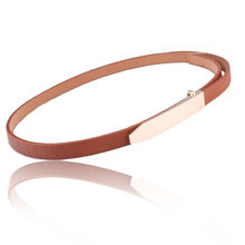 Women Hot Fashion Classic Minimalist Wild Thin Belt Waist Chian Women Belt Korean Style Retro Slender Waist Belt High Quality