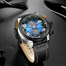 Luxury Fashion Chronograph and Waterproof watch for Men's