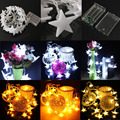 3m 30 LED String Lights Battery Operated Star Lights for Christmas Wedding Decoration