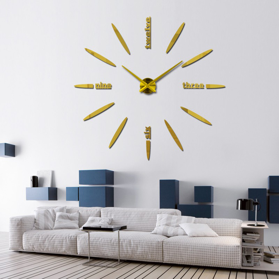 2019 Αρχική Διακόσμηση Σαλόνι ρολόγια - Διακόσμηση σπιτιού - Φωτογραφία 5