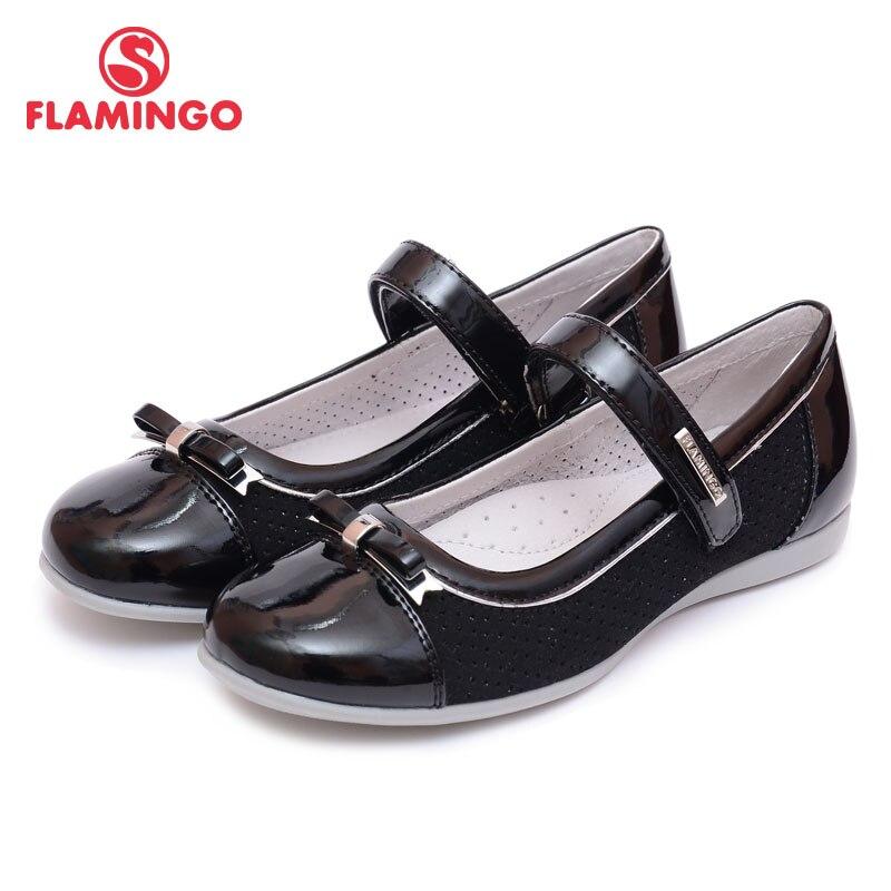 FLAMINGO 100% Russian Famous Brand 2016 New Arrival Spring & Autumn children shoes Fashion High Quality kids shoes 61-XT141