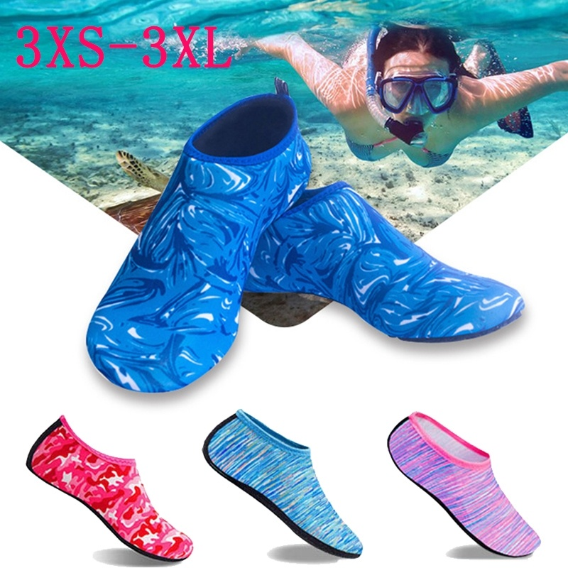Men's Aqua Diving Socks Shoes Women Water Swimming Beach Shoes Outdoor Summer Sea Surfing Sandals Unisex Snorkeling Wading Shoes