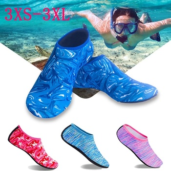 Men's Aqua Diving Socks Shoes Women Water Swimming Beach Shoes Outdoor Summer Sea Surfing Sandals Uni Snorkeling Wading Shoes